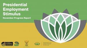 Presidential Employment Stimulus – November Progress Report
