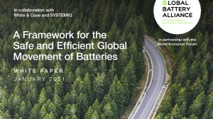 A Framework for the Safe and Efficient Global Movement of Batteries