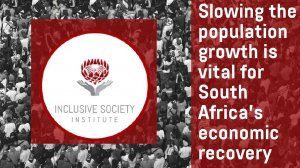 Slowing the population growth rate is vital for South Africa's economic recovery