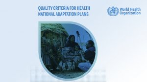 Quality Criteria for Health National Adaptation Plans