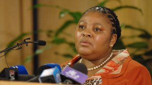 Mapisa-Nqakula to military veterans: 'Uphold the Constitution, strive to ensure peace and stability'