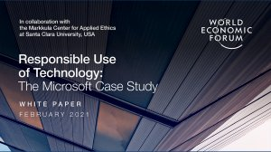 Responsible Use of Technology: The Microsoft Case Study