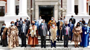 Coronavirus will be with us for some time, Ramaphosa tells traditional leaders