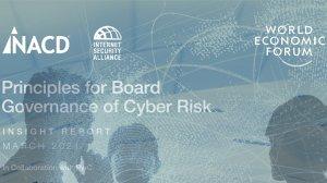 Principles for Board Governance of Cyber Risk