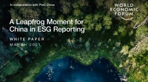 A Leapfrog Moment for China in ESG Reporting