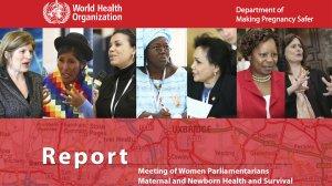 Meeting of women parliamentarians report