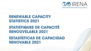 Renewable Capacity Statistics 2021
