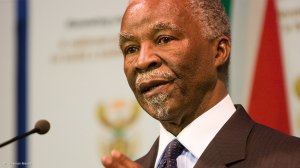 Mbeki says calls for synchronised elections are 'counter-revolutionary'