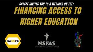 SASSFE webinar: Financing Access to Higher Education