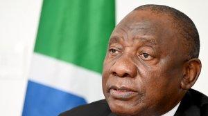 Picture of SA President Cyril Ramaphosa