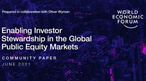 Enabling Investor Stewardship in the Global Public Equity Markets