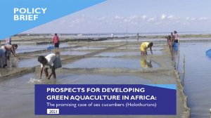 Prospects for developing green aquaculture in Africa