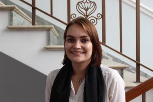 An Image of Isabel Bosman, a researcher at SAIIA's African Governance and Diplomacy programme