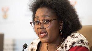 Image of South Africa's Acting Health MinisterMmamoloko Kubayi