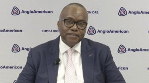 Kumba CEO during presentation of half-year 2021 results