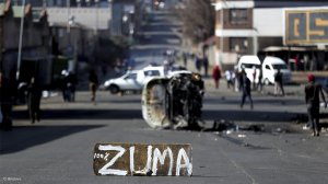 Johannesburg protests