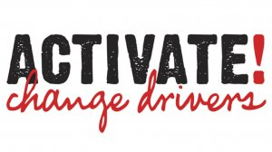 ACTIVATE! Change Drivers logo