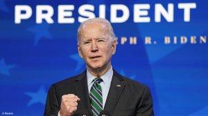Picture of the US President Joe Biden