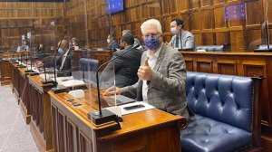 Picture of The Western Cape Premier Alan Winde
