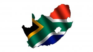 Picture of the South African flag