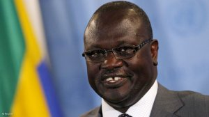 South Sudan's Machar says 'peace spoilers' backed his removal as party leader