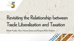 Working Paper 349 - Revisiting the Relationship between Trade Liberalization and Taxation