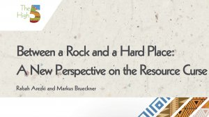 Working Paper 351 - Between a Rock and a Hard Place: A New Perspective on the Resource Curse
