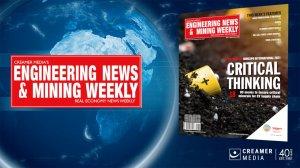 Image of Engineering News and Mining Weekly magazine