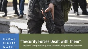 Suspicious Killings and Extrajudicial Executions by Egyptian Security Forces
