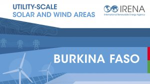 Utility-scale Solar and Wind Areas: Burkina Faso