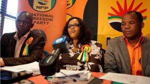 National Freedom Party leader Zanele Magwaza-Msibi