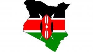 Image of the Kenyan flag