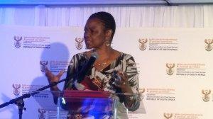 Image of Deputy Minister in the Presidency Hlengiwe Buhle Mkhize