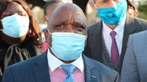 South African Minister of Health Dr Joe Phaahla