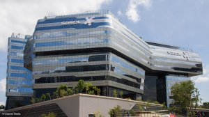 Image of the Sasol building in Sandton