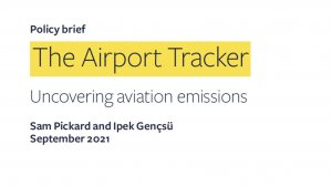 The Airport Tracker: uncovering aviation emissions