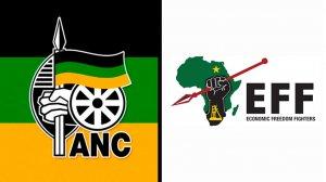 ANC logo and EFF logo