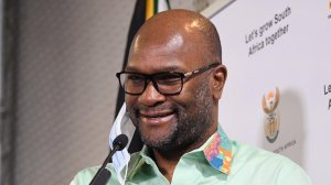 Image of Minister of Sports, Arts and Culture Nathi Mthethwa