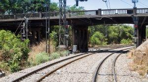 Image of the rail tracks