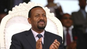 Image of Ethiopia's incumbent Abiy Ahmed