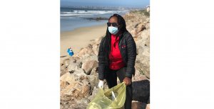 Image showing beach clean-up by CCBSA member in Gqeberha