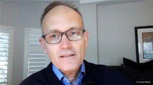 Creamer Media screenshot of Paul Miller taken during Zoom interview on 4 October 2021