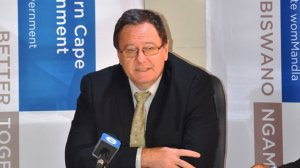 Image of Minister for Local Government, Environmental Affairs and Development Planning in the Western Cape, Anton Bredell