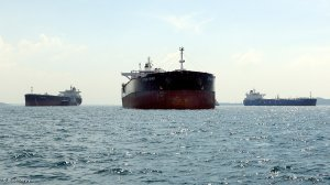 Image of oil tankers
