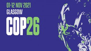 An image of the COP26 logo