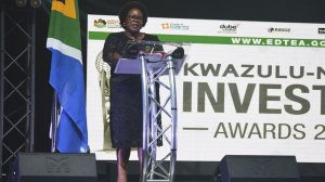Image of Deputy Minister of Trade, Industry and Competition, Nomalungelo Gina