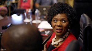 Image of Law trust chair in social justice and law professor at Stellenbosch University Professor Thuli Madonsela