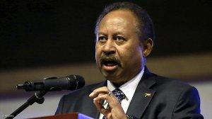 Image of Prime Minister of Sudan Abdalla Hamdok