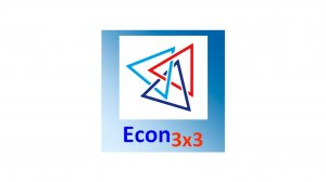 Econ3x3 logo