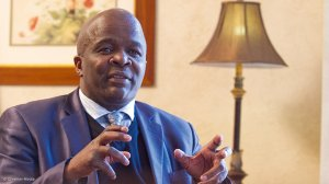 Minister in the Presidency Mondli Gungubele